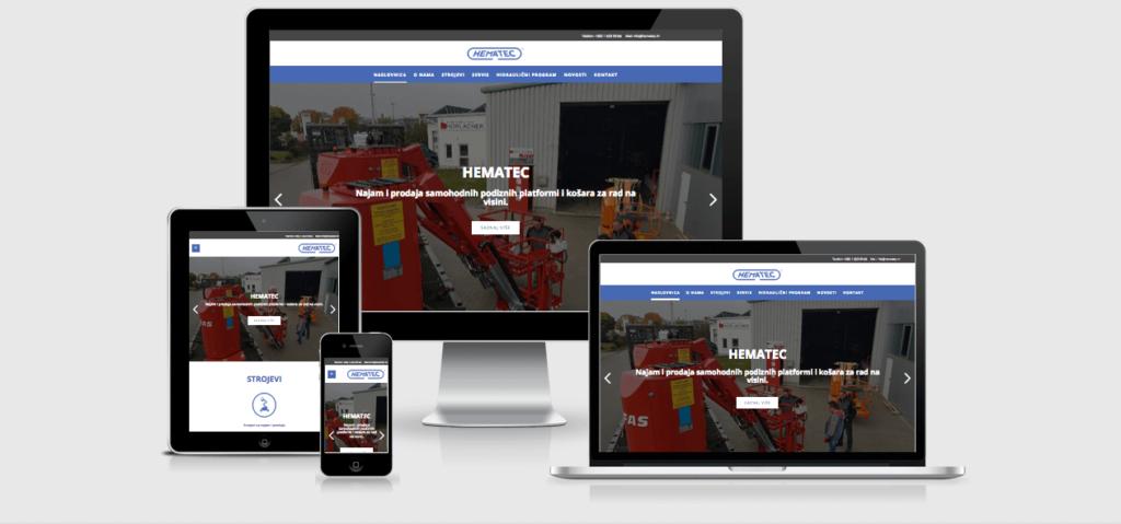 hematec web stranica